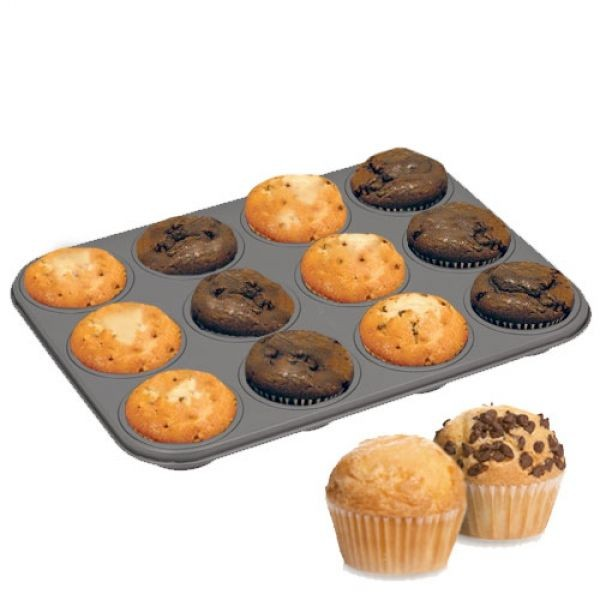 Muffin-Form (Metall)