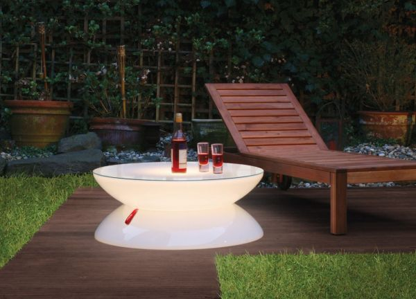 Beleuchteter LED Couchtisch moree LOUNGE OUTDOOR