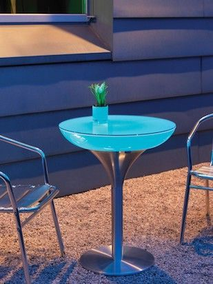 Beleuchteter Loungetisch moree LOUNGE M 75 LED - OUTDOOR
