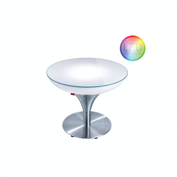 Beleuchteter LED Couchtisch moree LOUNGE M - OUTDOOR